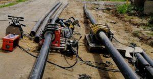 Фото Газопровод ПЭ-100, d 110 мм., d 160 мм. 1